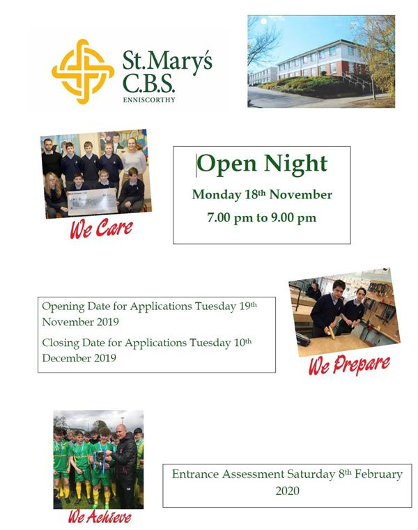 School Open Night