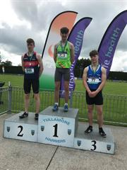 All-Ireland 110m Hurdle Champion